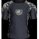 Cypress Rashguard Short Sleeve, Army Green Camo