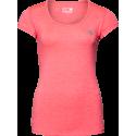 Cheyenne T-shirt - różowa damska koszulka sportowa
