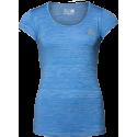 Cheyenne T-shirt - niebieska damska koszulka sportowa