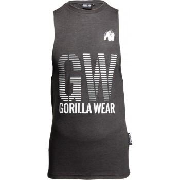 Dakota Sleeveless T-Shirt - Grey