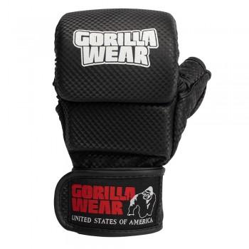 Ely MMA Sparring Gloves - Black/White