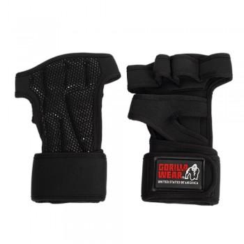 Yuma Weight Lifting Workout Gloves, black