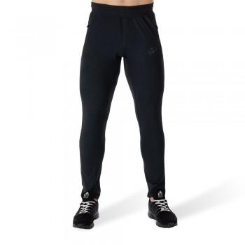 Glendo Pants - Granatowe dopasowane spodnie dresowe