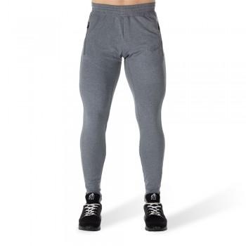 Glendo Pants - jasno szare dopasowane spodnie dresowe