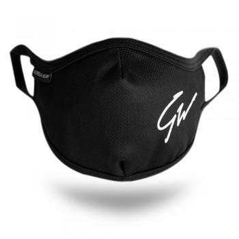 Gorilla Wear Face Mask - czarna maseczka ochronna
