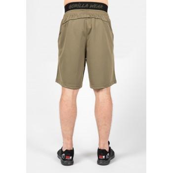 Mercury Mesh Shorts - Zielono/Czarne krótkie spodenki treningowe