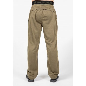 Mercury Mesh Pants - Zielono/Czarne spodnie treningowe