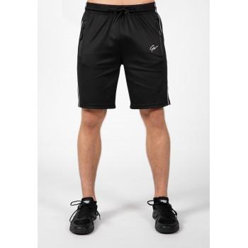 Wenden Shorts - czarno białe spodenki dresowe męskie