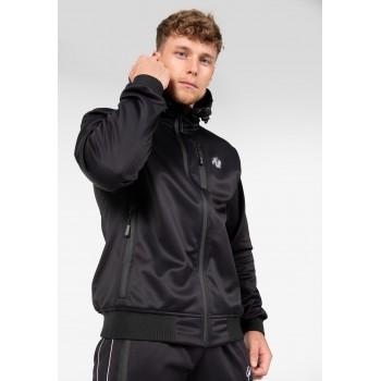 Glendale Softshell Jacket Navy - czarna bluza męska