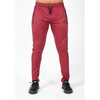 Wenden Pants - dresowe spodnie dresowe bordowe
