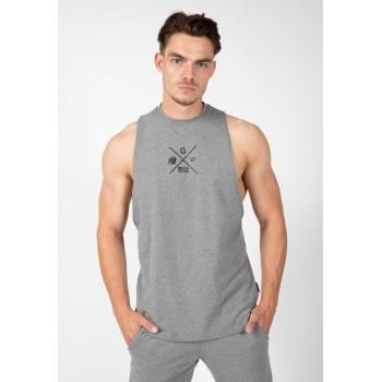 Cisco Drop Armhole Tank Top - szara koszulka bez rękawów męska