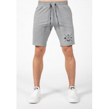 Cisco Shorts - czarno szare krótkie spodenki męskie