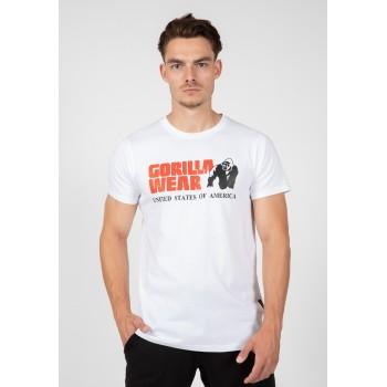 Classic T-shirt - biała koszulka męska