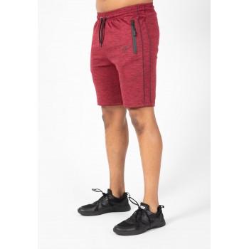 Wenden Shorts - bordowe spodenki dresowe męskie