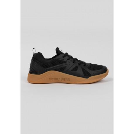 Gym Hybrids - czarno/brązowe buty treningowe