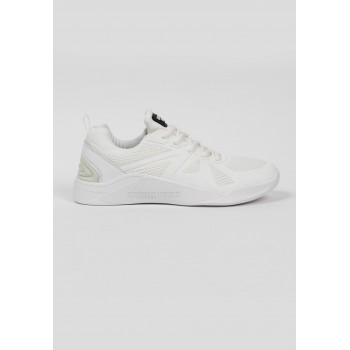 Gorilla Wear USA Gym Hybrids - białe buty treningowe