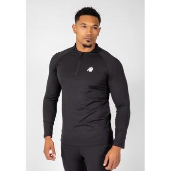 Hamilton Hybrid Longsleeve - czarna koszulka z długim rękawem