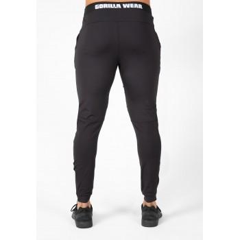 Hamilton Hybrid Pants - czarne spodnie treningowe