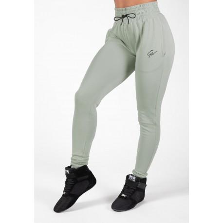 Pixley Sweatpants - zielone damskie spodnie dresowe