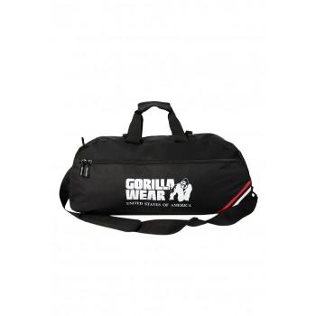 Norris Hybrid Gym Bag - czarna torba/plecak