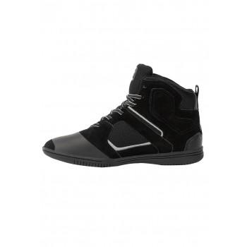 Troy High Tops - czarno/szare buty sportowe