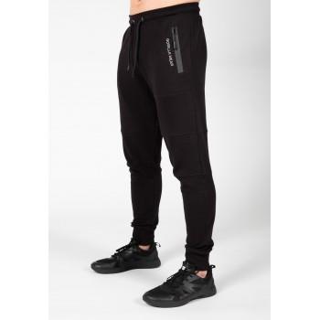 Newark Pants - czarne spodnie dresowe