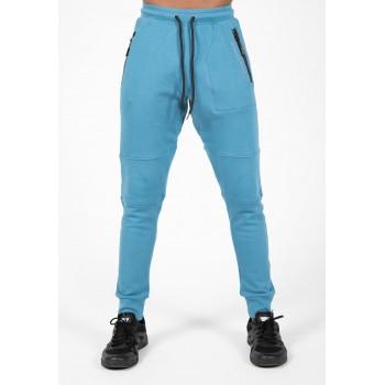 Newark Pants - niebieskie spodnie dresowe