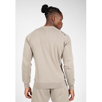 Newark Sweater - beżowa bluza dresowa