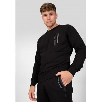 Newark Sweater - czarna bluza dresowa