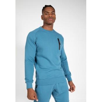 Newark Sweater - niebieska bluza dresowa