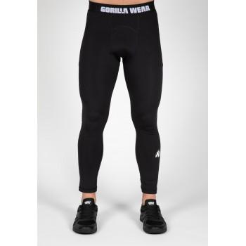 Columbus Men's Tights - czarne legginsy treningowe