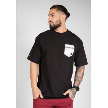 Dover Oversized - czarna koszulka męska