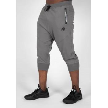 Knoxville Sweatpants - szare spodnie dresowe 3/4