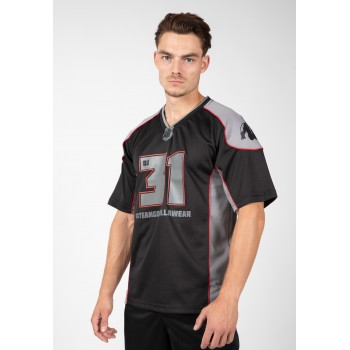 Athlete T-shirt 2.0 Dennis James - Czarno/Szara Footbolówka