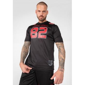 Fresno T-shirt, Black/Red
