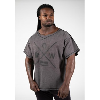 Sheldon Work Out Top, Grey