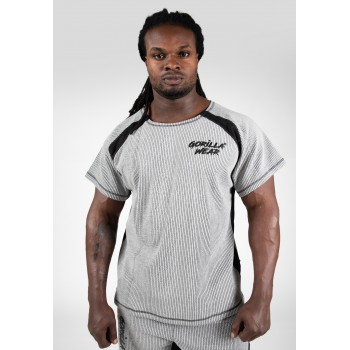 Augustine Old School Work Out Top, Grey
