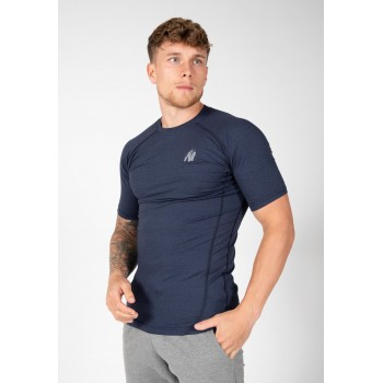 Lewis T-shirt, Navy Blue