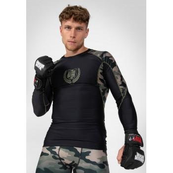 Lander Rashguard Long Sleeve, Army Green Camo