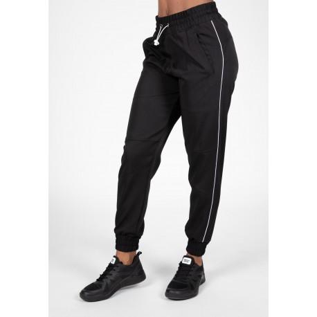 Pasadena Woven Pants - czarne spodnie sportowe
