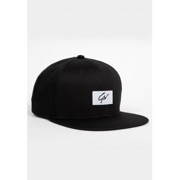 Ontario Snapback - czarna czapka z daszkiem