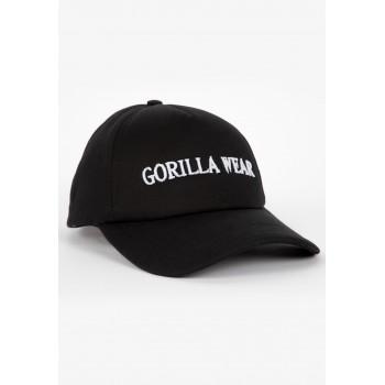 Sharon Ponytail - czarna czapka z daszkiem