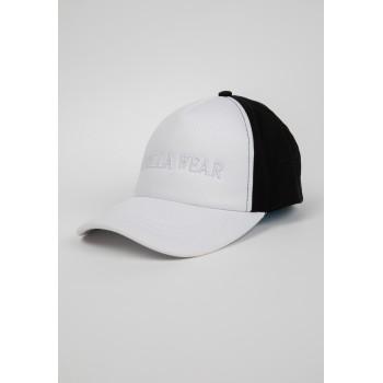 Sharon Ponytail - biało/czarna czapka z daszkiem