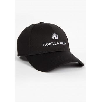Bristol Fitted Cap - czarna czapka z daszkiem