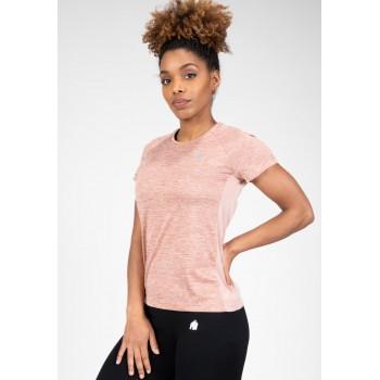 Monetta Performance - różowy t-shirt sportowy