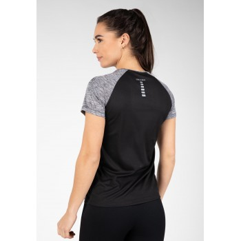 Monetta Performance - szaro/czarny t-shirt sportowy
