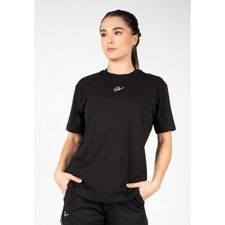 Bixby Oversized T-shirt - czarna luźna koszulka