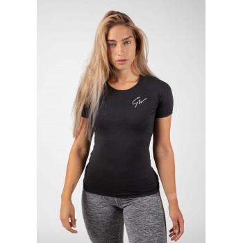 Holly T-shirt - Czarna koszulka Damska
